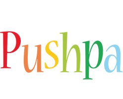 Pushpa birthday logo