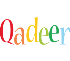 Qadeer birthday logo