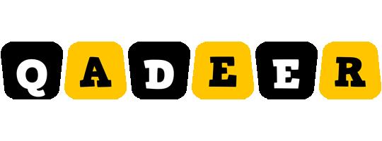 Qadeer boots logo