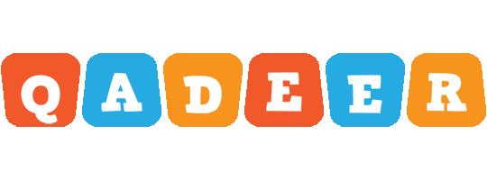 Qadeer comics logo
