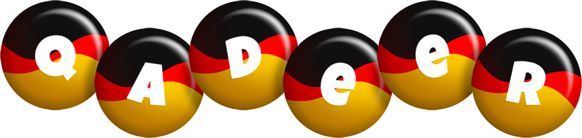 Qadeer german logo
