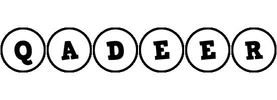 Qadeer handy logo