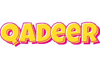 Qadeer kaboom logo
