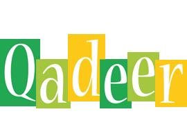 Qadeer lemonade logo
