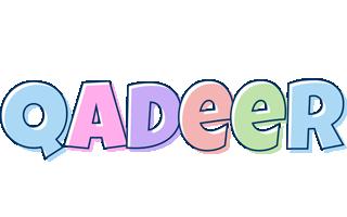 Qadeer pastel logo