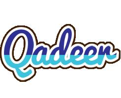 Qadeer raining logo