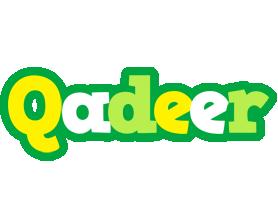 Qadeer soccer logo