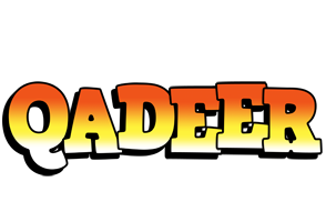 Qadeer sunset logo