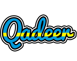 Qadeer sweden logo
