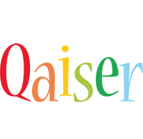 Qaiser birthday logo