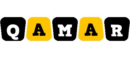 Qamar boots logo