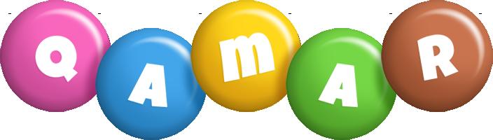 Qamar candy logo