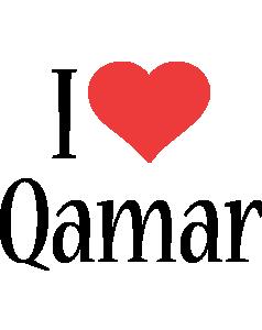 Qamar i-love logo