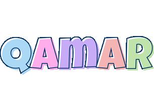 Qamar pastel logo
