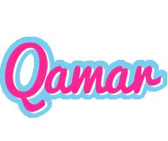 Qamar popstar logo