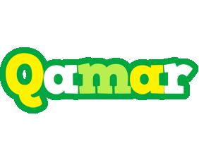 Qamar soccer logo