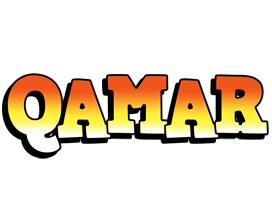 Qamar sunset logo