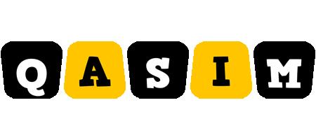 Qasim boots logo