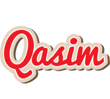 Qasim chocolate logo