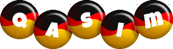 Qasim german logo