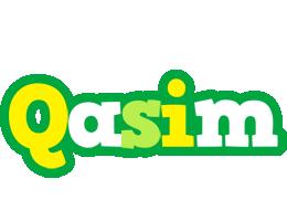 Qasim soccer logo