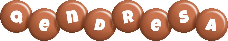 Qendresa candy-brown logo