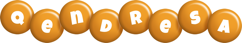 Qendresa candy-orange logo