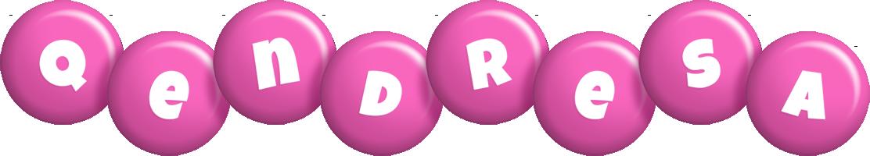 Qendresa candy-pink logo
