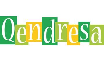 Qendresa lemonade logo