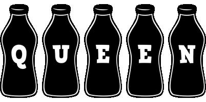 Queen bottle logo