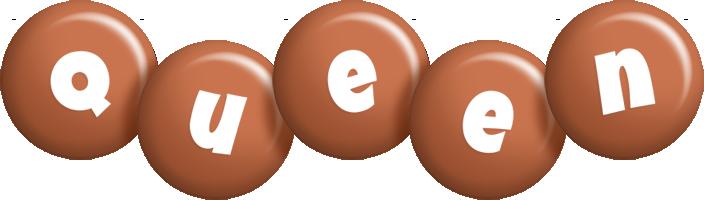 Queen candy-brown logo