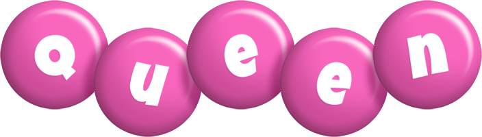 Queen candy-pink logo