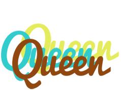 Queen cupcake logo