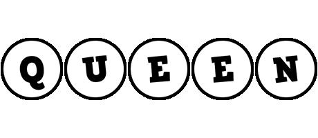 Queen handy logo