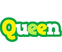 Queen soccer logo