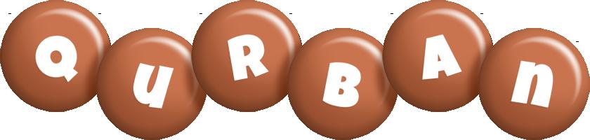 Qurban candy-brown logo