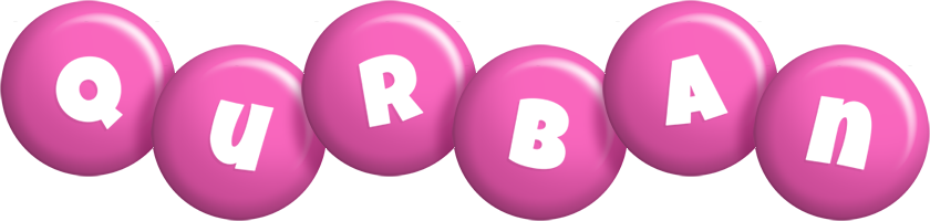 Qurban candy-pink logo