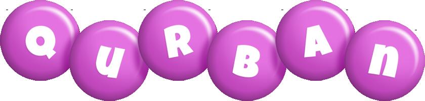Qurban candy-purple logo
