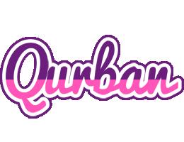 Qurban cheerful logo