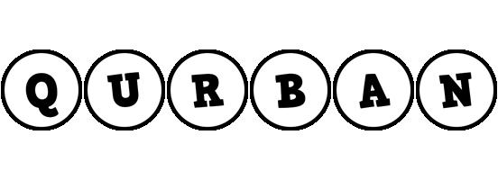Qurban handy logo