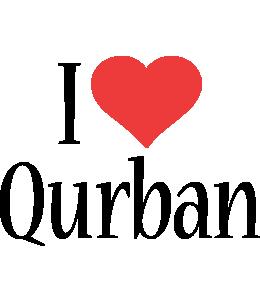 Qurban i-love logo