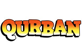 Qurban sunset logo
