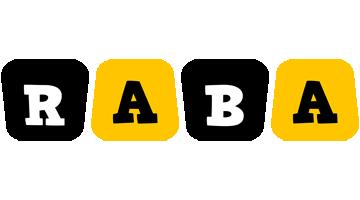 Raba boots logo