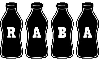 Raba bottle logo