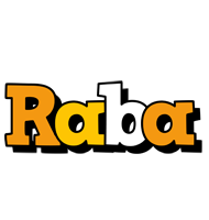 Raba cartoon logo