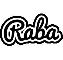 Raba chess logo