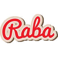 Raba chocolate logo