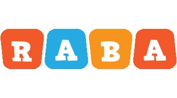 Raba comics logo