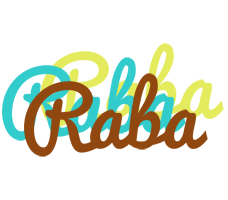 Raba cupcake logo