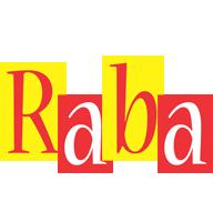 Raba errors logo